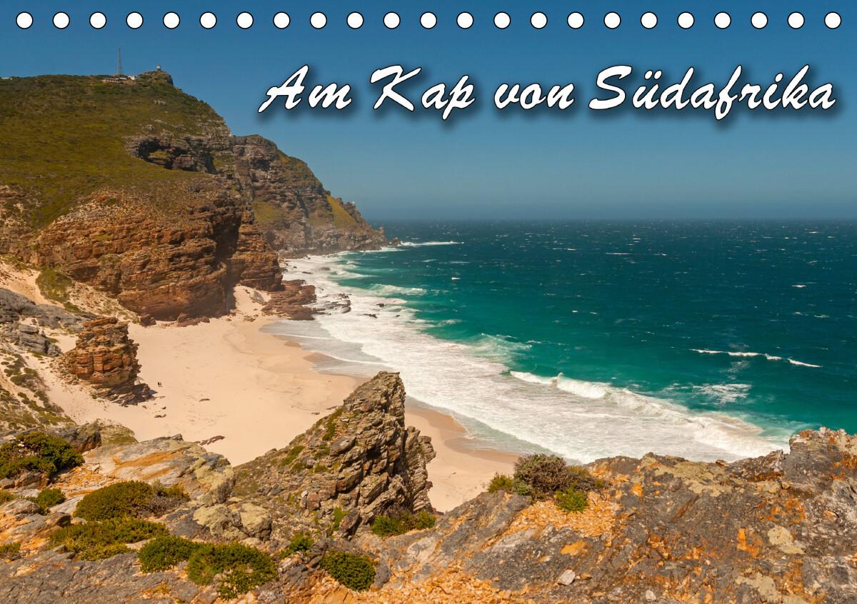 Am Kap von Südafrika (Tischkalender 2021 DIN A5 quer) als Kalender