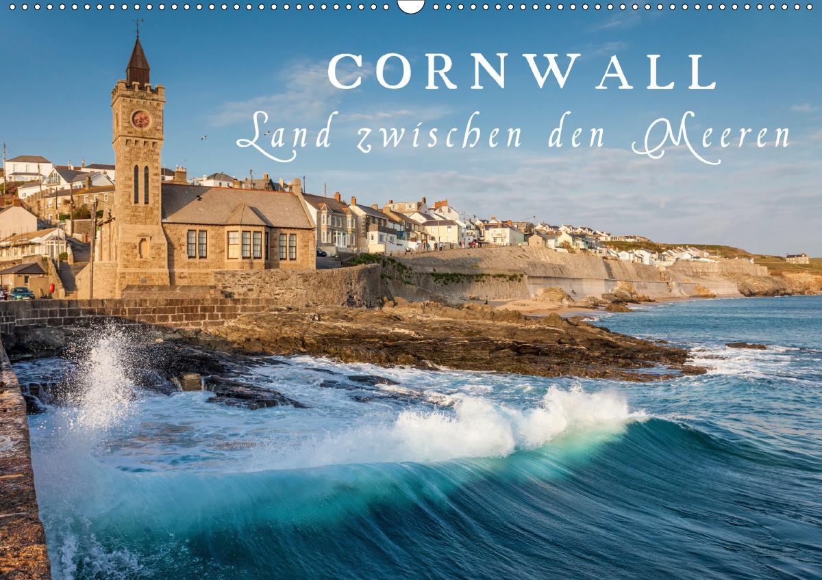 Cornwall - Land zwischen den Meeren (Wandkalender 2021 DIN A2 quer) als Kalender