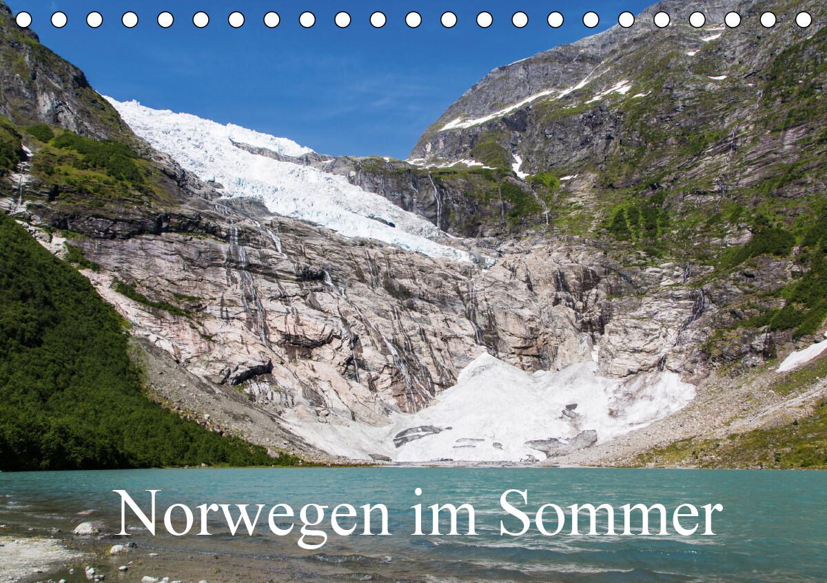 Norwegen im SommerCH-Version (Tischkalender 2021 DIN A5 quer) als Kalender