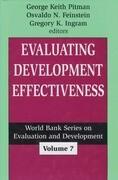 Evaluating Development Effectiveness