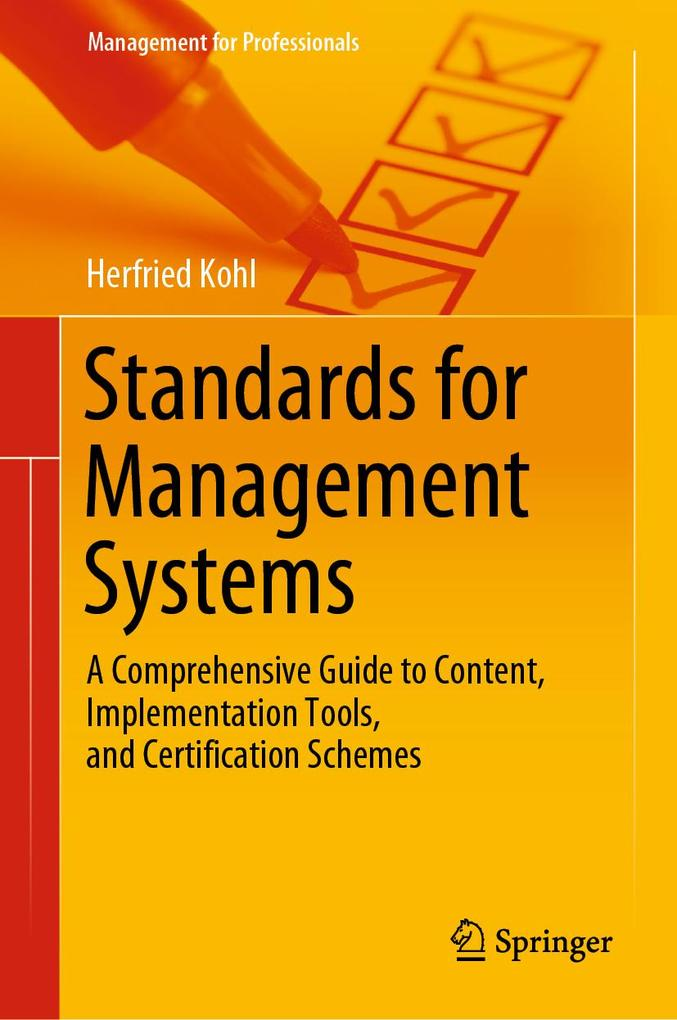 Standards for Management Systems als eBook pdf