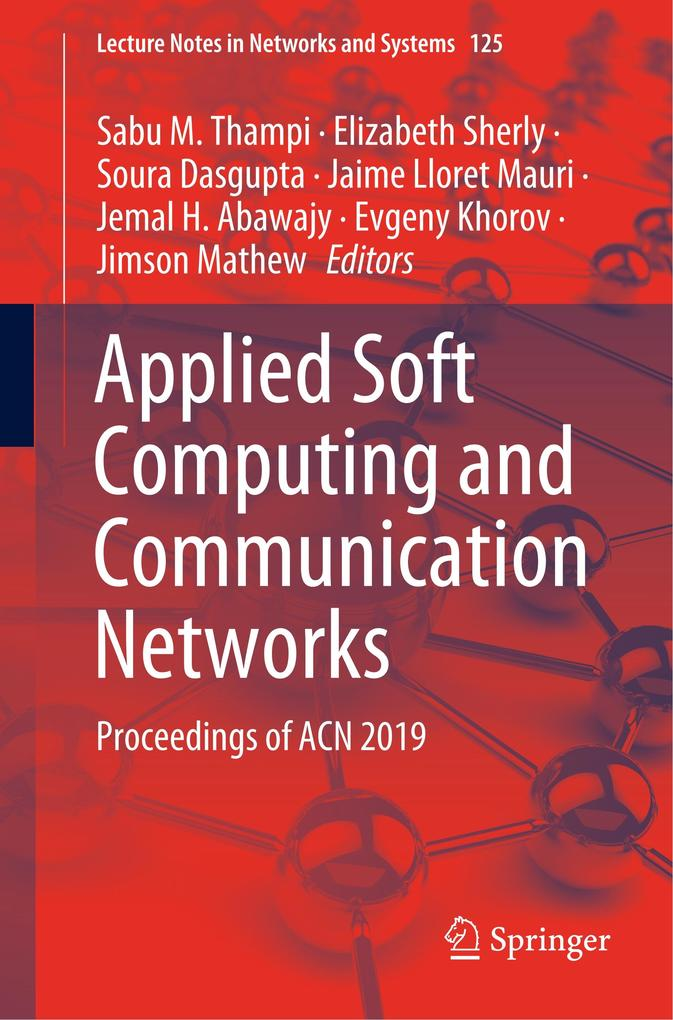 Applied Soft Computing and Communication Networks als Buch (kartoniert)