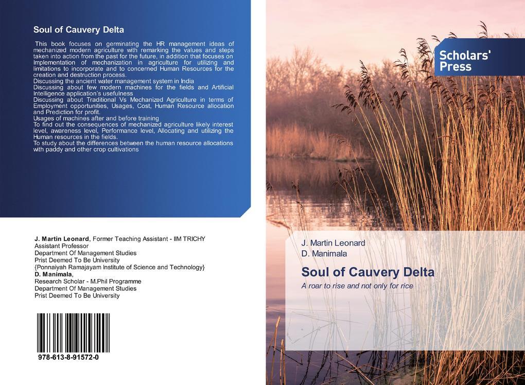 Soul of Cauvery Delta als Buch (kartoniert)