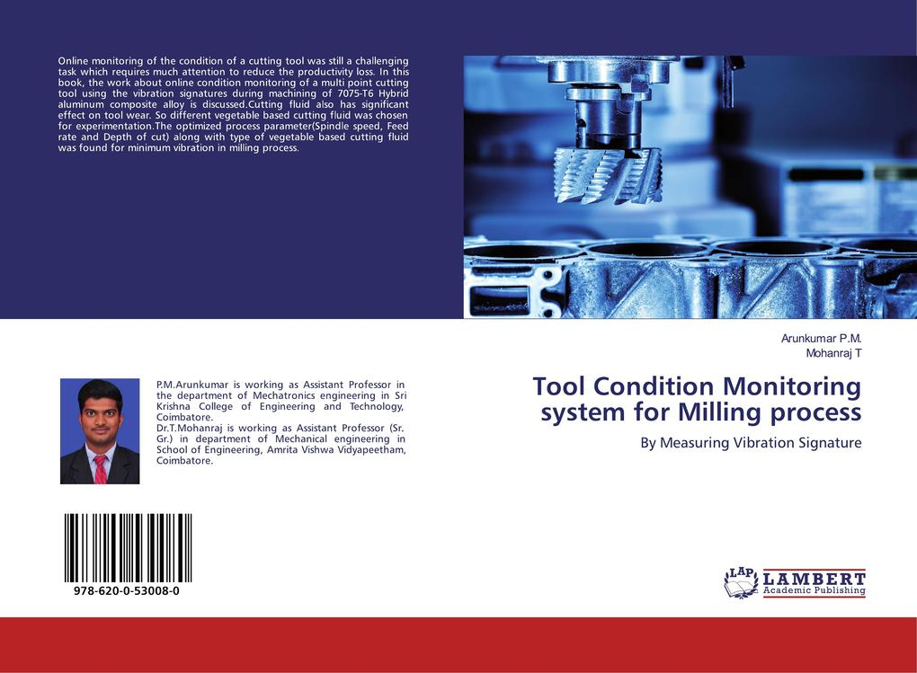 Tool Condition Monitoring system for Milling process als Buch (kartoniert)