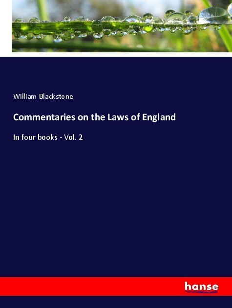 Commentaries on the Laws of England als Buch (kartoniert)