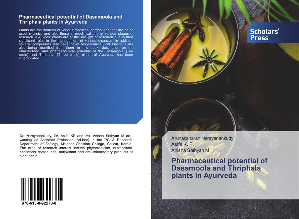 Pharmaceutical potential of Dasamoola and Thriphala plants in Ayurveda als Buch (kartoniert)