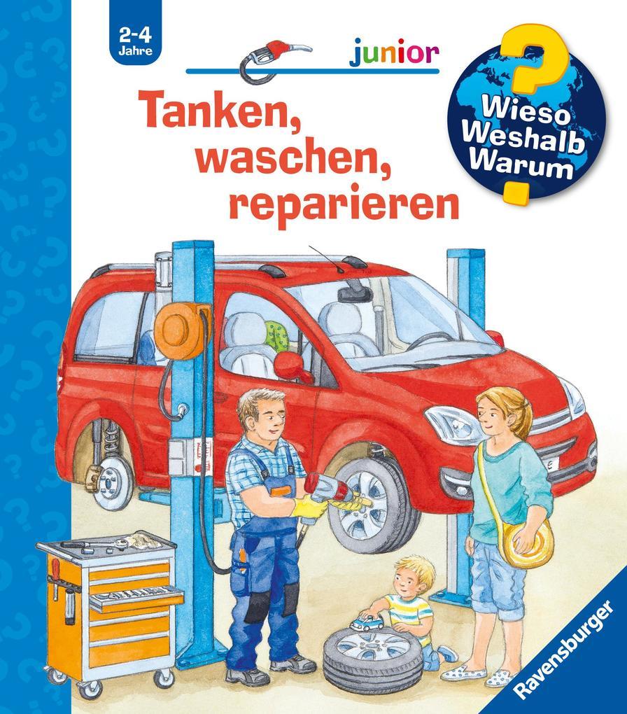 Tanken, waschen, reparieren als Buch (kartoniert)