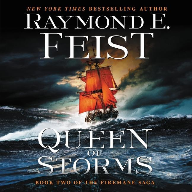 Queen of Storms: Book Two of the Firemane Saga als Hörbuch CD