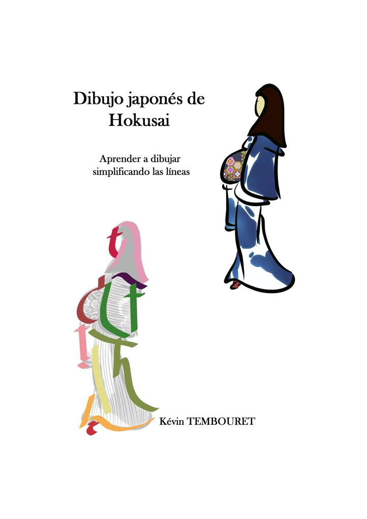 Dibujo japonés de Hokusai - Aprender a dibujar simplificando las líneas als eBook epub