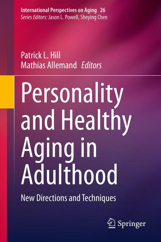 Personality and Healthy Aging in Adulthood als eBook pdf