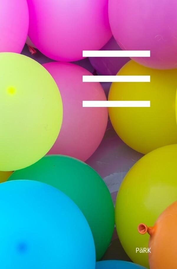 PäRK Schulheft Luftballons liniert 100 Blatt als Buch (kartoniert)