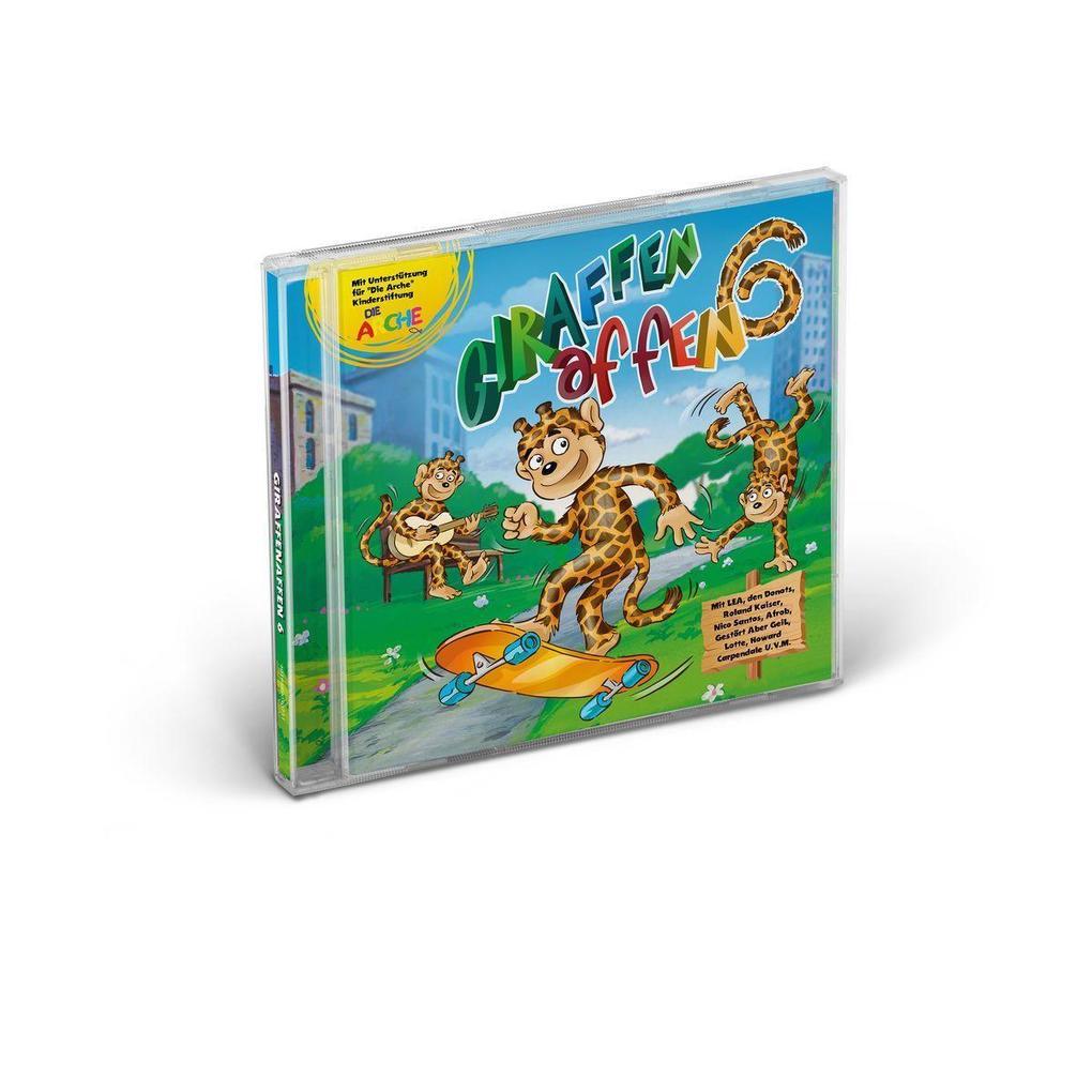 Giraffenaffen 6 als CD