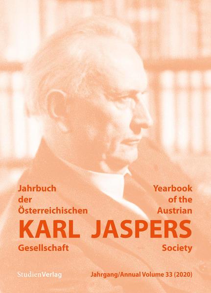 Jahrbuch der Österreichischen Karl-Jaspers-Gesellschaft 33 (2020) als Buch (kartoniert)