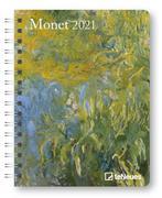 Monet 2021Diary - Buchkalender - Taschenkalender