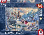 Schmidt Spiele - Die Schöne und das Biest - Zauberhafter Winterabend, Limited Christmas Edition