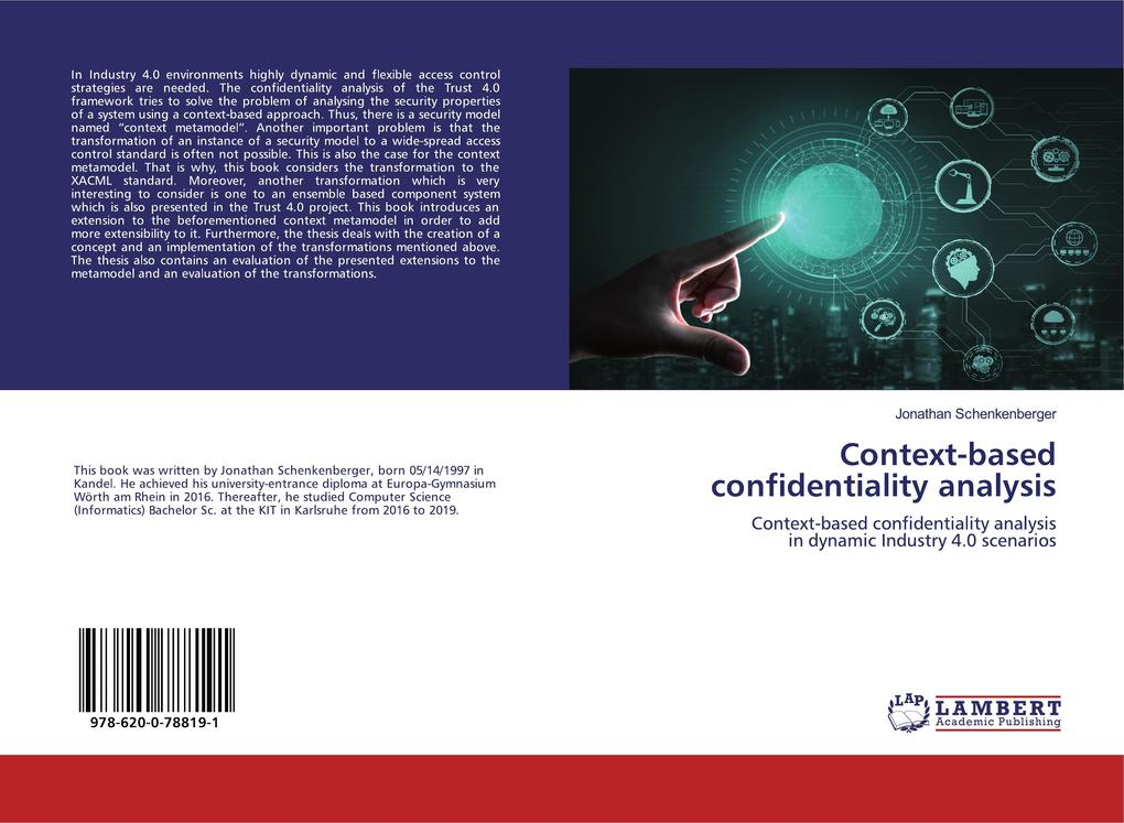 Context-based confidentiality analysis als Buch (kartoniert)