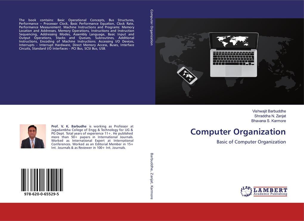Computer Organization als Buch (kartoniert)