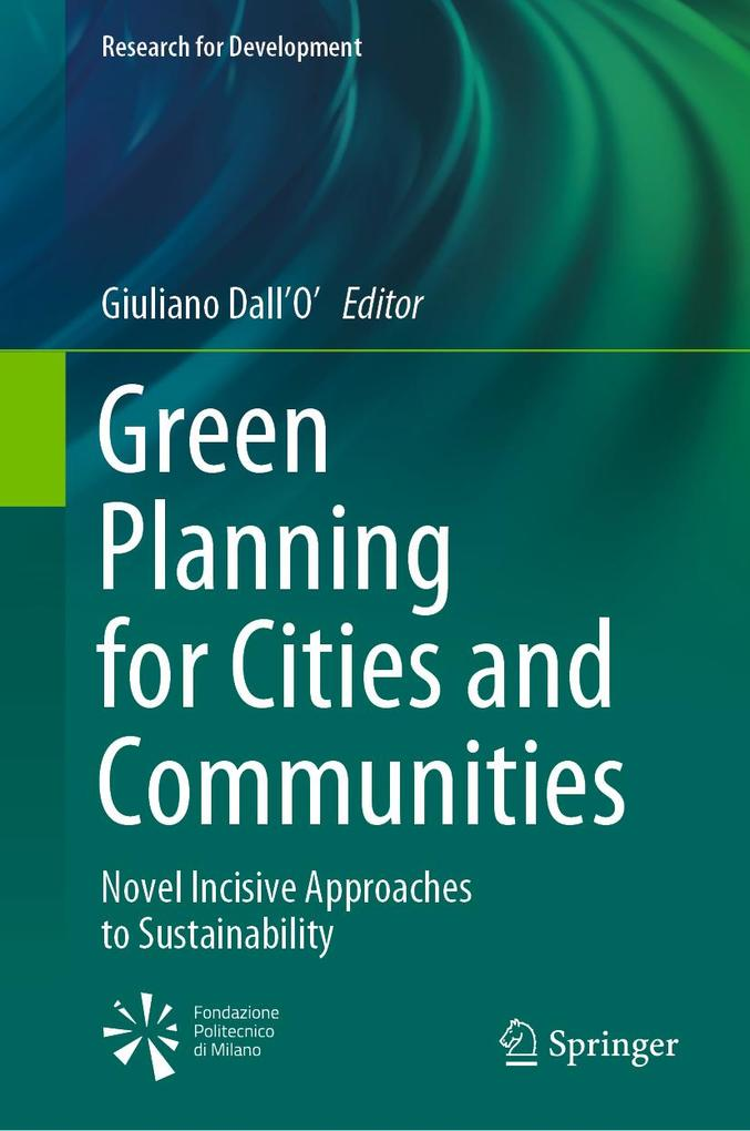 Green Planning for Cities and Communities als eBook pdf