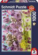 Schmidt Spiele - Puzzle - Violette Blüten, 1000 Teile