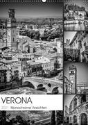 VERONA Monochrome Ansichten (Wandkalender 2021 DIN A2 hoch)
