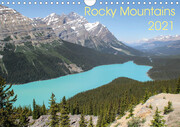 Rocky Mountains 2021 (Wandkalender 2021 DIN A4 quer)