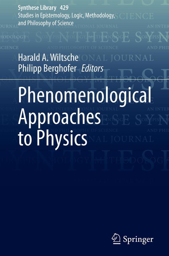 Phenomenological Approaches to Physics als Buch (gebunden)