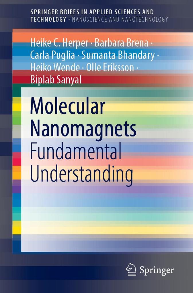 Molecular Nanomagnets als eBook pdf