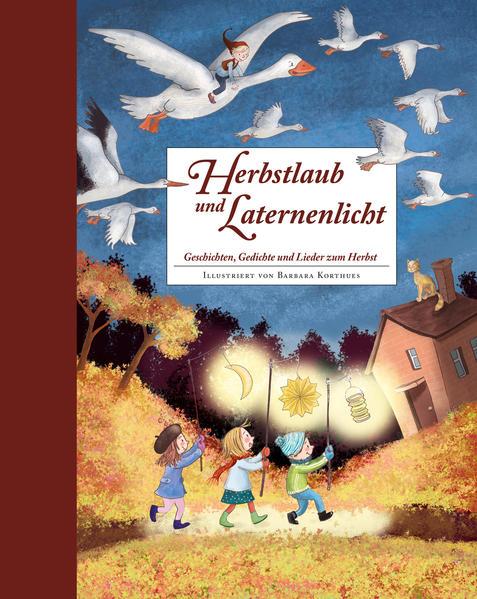 Herbstlaub und Laternenlicht als Buch (gebunden)