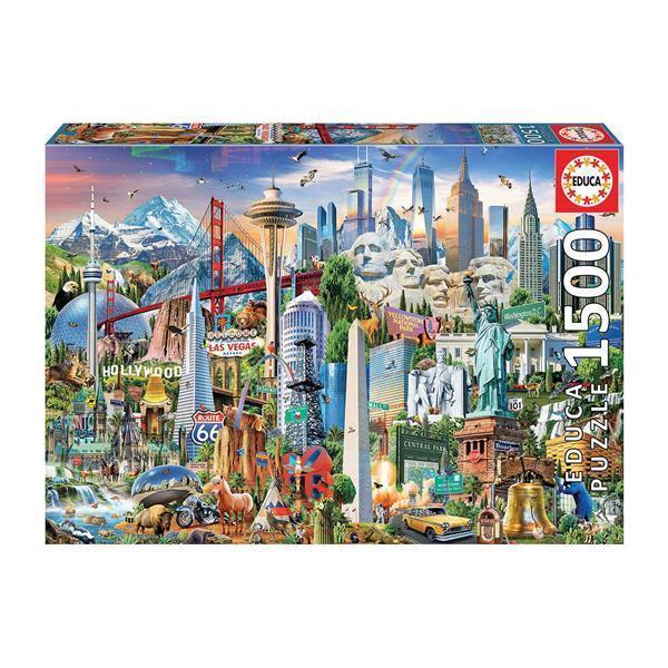 Educa Puzzle. Symbols from North America 1500 Teile als Spielware