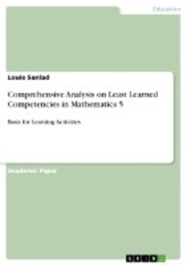 Comprehensive Analysis on Least Learned Competencies in Mathematics 5 als Buch (kartoniert)