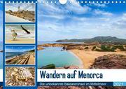 Wandern auf Menorca (Wandkalender 2021 DIN A4 quer)