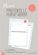 "Meine Protokolle perfekt notiert ""live - love - teach"""