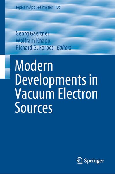 Modern Developments in Vacuum Electron Sources als Buch (gebunden)
