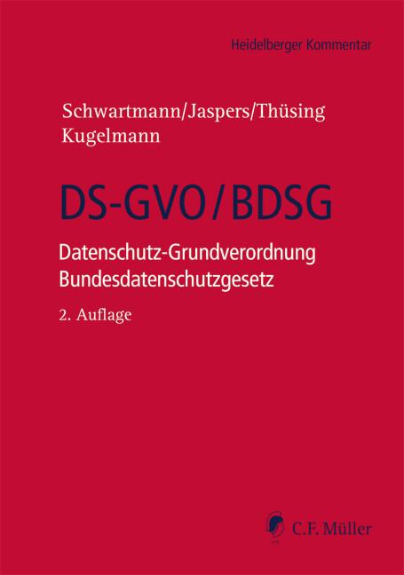 DS-GVO/BDSG als Buch (gebunden)