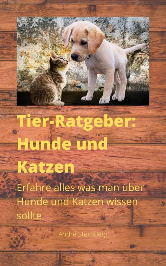 Tier-Ratgeber: Hunde und Katzen als eBook epub