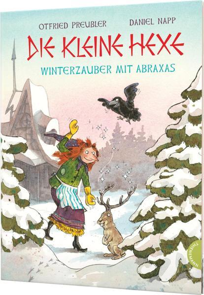 Die kleine Hexe. Winterzauber mit Abraxas als Buch (gebunden)