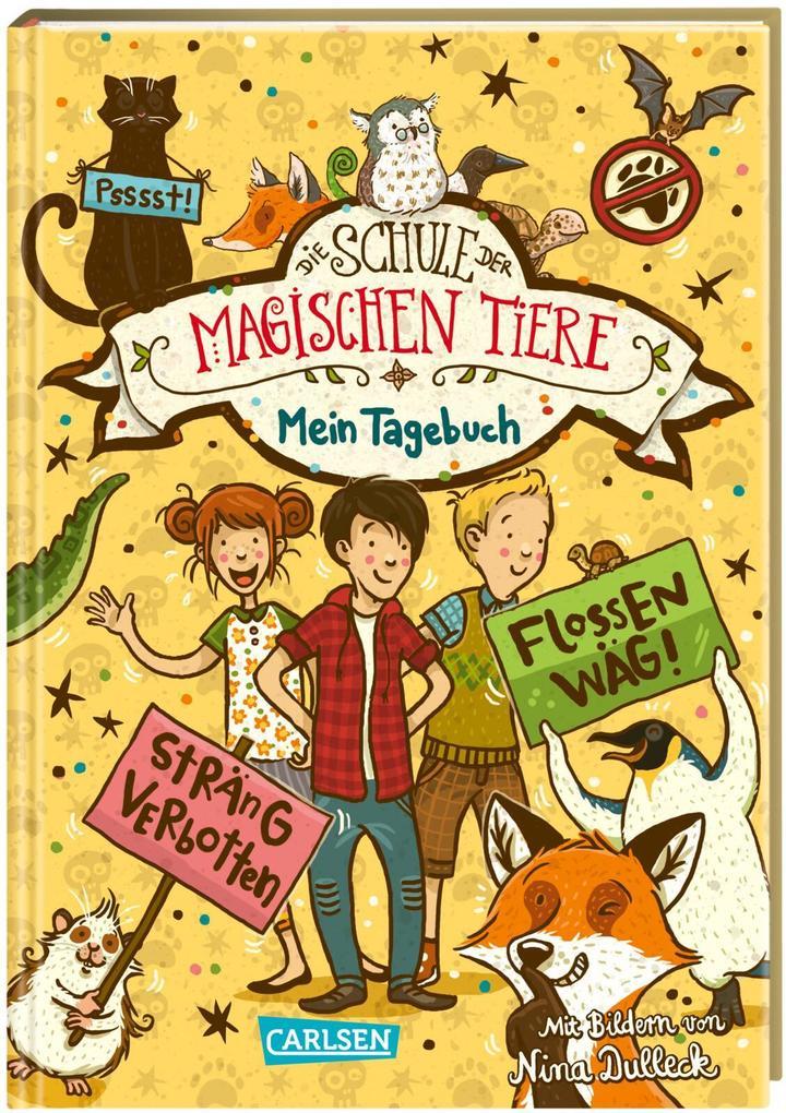 Die Schule der magischen Tiere: Mein Tagebuch als Buch (gebunden)