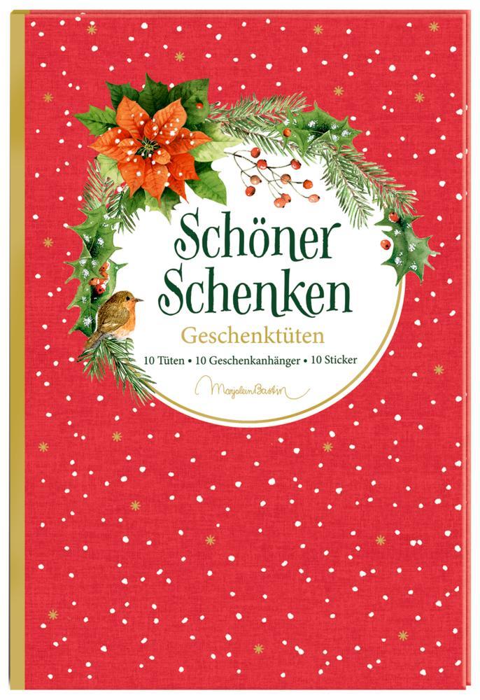 Geschenktüten-Buch - Schöner schenken (M. Bastin) als Sonstiger Artikel