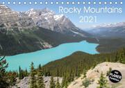 Rocky Mountains 2021 (Tischkalender 2021 DIN A5 quer)