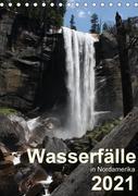 Wasserfälle in Nordamerika 2021 (Tischkalender 2021 DIN A5 hoch)