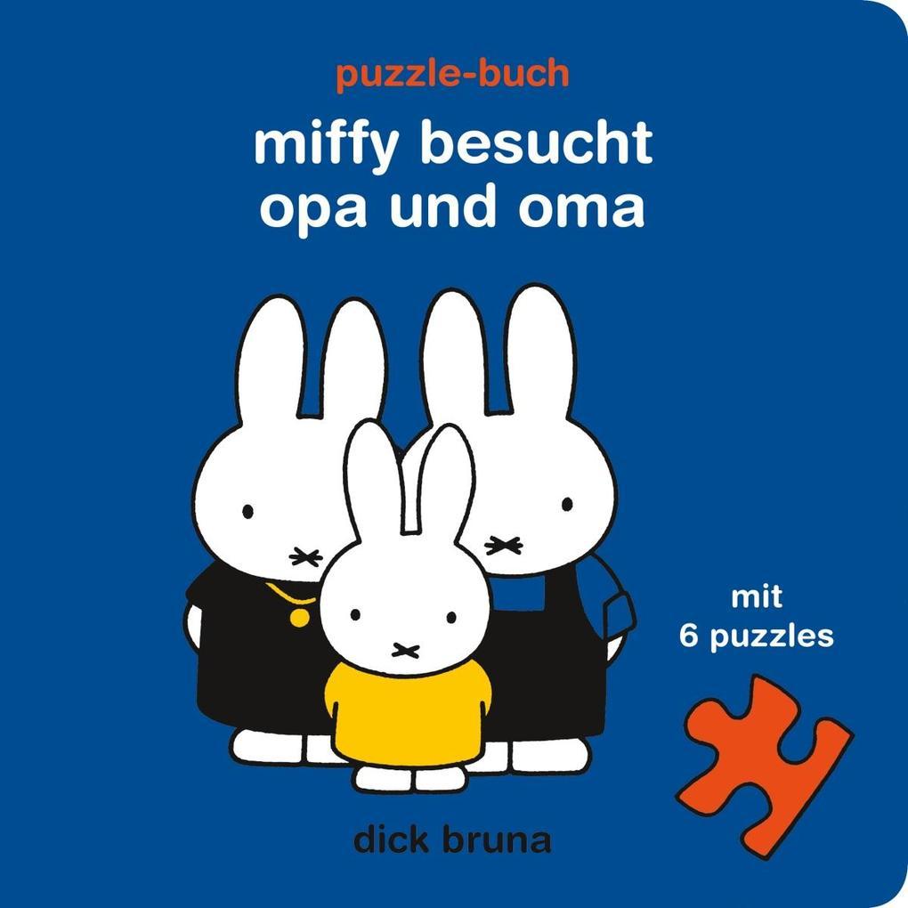 Miffy besucht Opa und Oma als Buch (gebunden)
