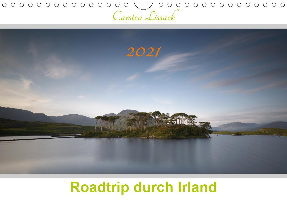 Roadtrip durch Irland (Wandkalender 2021 DIN A4 quer) als Kalender