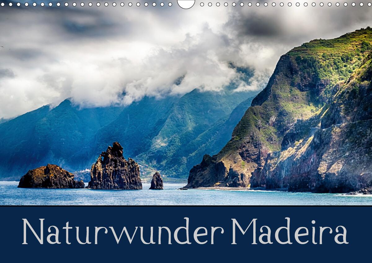 Naturwunder Madeira (Wandkalender 2021 DIN A3 quer) als Kalender