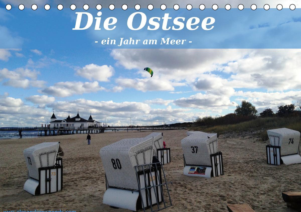 Die Ostsee - Ein Jahr am Meer (Tischkalender 2021 DIN A5 quer) als Kalender