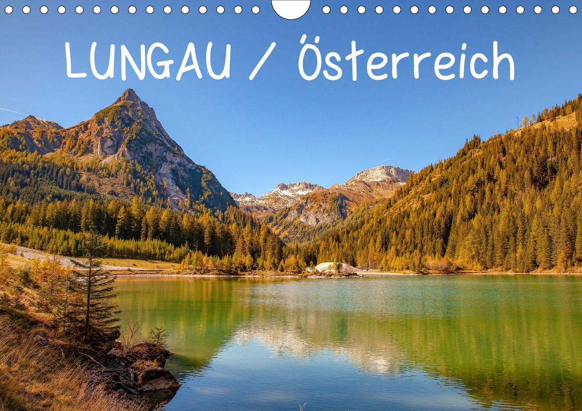 Lungau / Österreich (Wandkalender 2021 DIN A4 quer) als Kalender