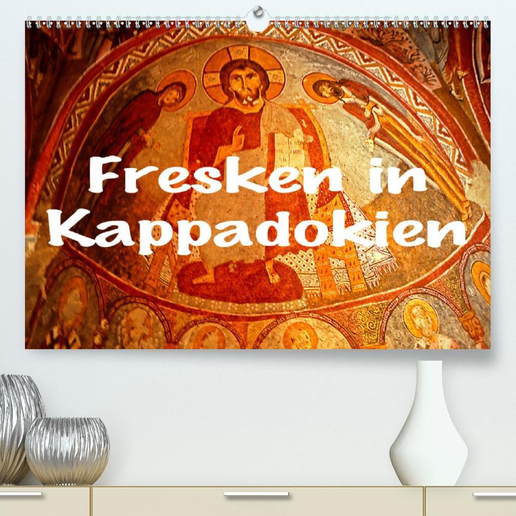 Fresken in Kappadokien (Premium, hochwertiger DIN A2 Wandkalender 2020, Kunstdruck in Hochglanz) als Kalender