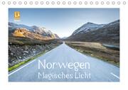 Norwegen Magisches Licht (Tischkalender 2021 DIN A5 quer)