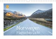 Norwegen Magisches Licht (Wandkalender 2021 DIN A4 quer)