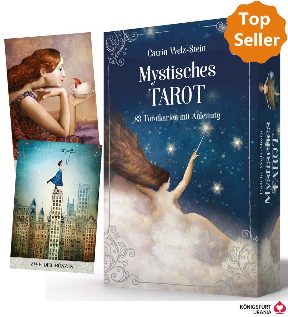 Mystisches Tarot als Buch (gebunden)