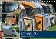 Citroën HY der Kult -Transporter (Tischkalender 2021 DIN A5 quer)